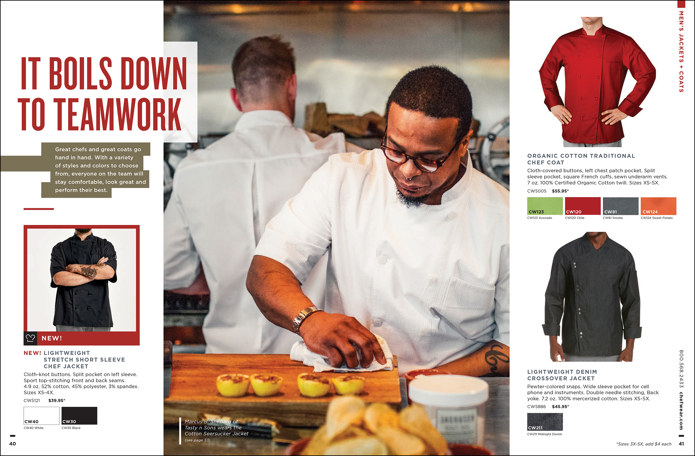 Advertising // Chefwear Catalog